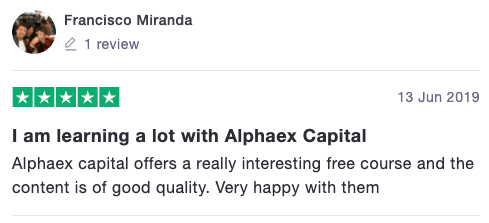 Alphaex Capital Trustpilot 5 Star Review Trading Strategy Guide 13 | Alphaex Capital